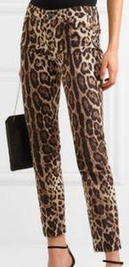 Dolce & Gabbana High Waist Cropped Jean Pant